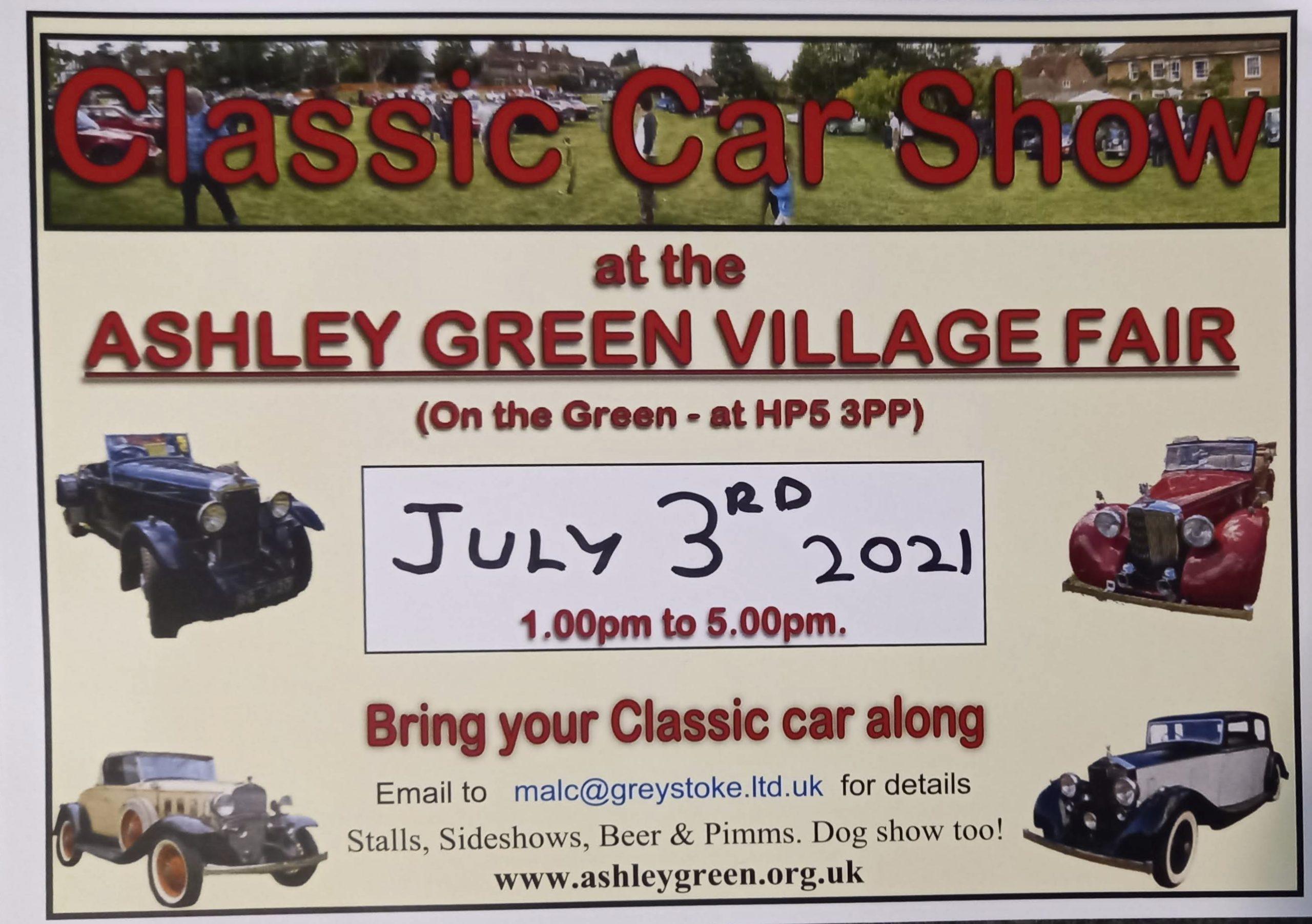 Ashley Green Show 3rd July